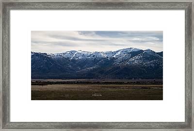 Buntingville Afternoon Framed Print