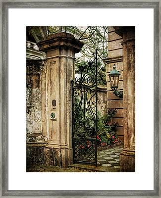 Buonasera Charleston Framed Print