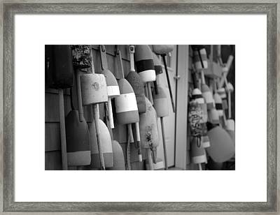 Buoys Framed Print by Eric Gendron