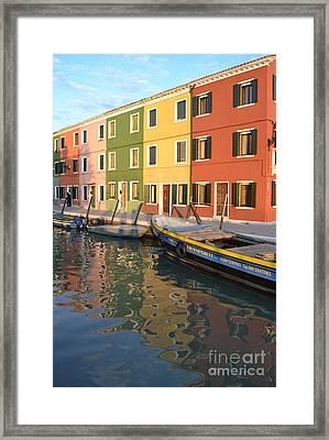 Burano Italy 1 Framed Print
