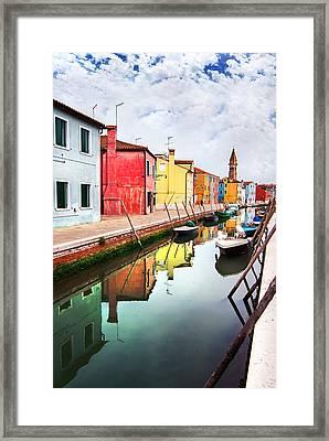 Burano Framed Print by Ivan Vukelic