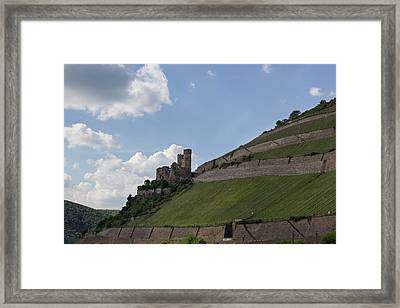 Burg Ehrenfels Framed Print by Teresa Mucha