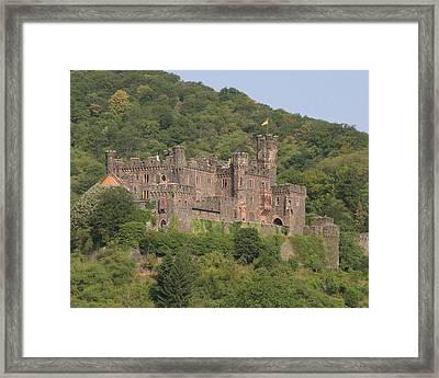 Burg Reichenstein Framed Print by Alan Zeleznikar
