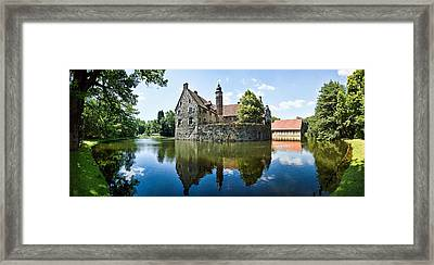Burg Vischering Framed Print by Dave Bowman