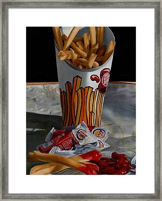 Burger King Value Meal No. 5 Framed Print by Thomas Weeks