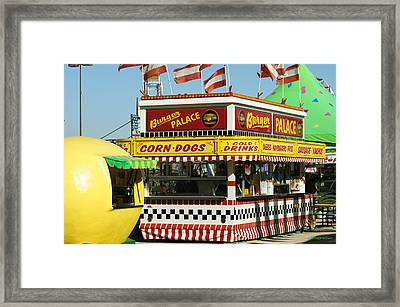 Burger Palace Framed Print