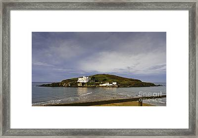 Burgh Island Devon Framed Print by Donald Davis