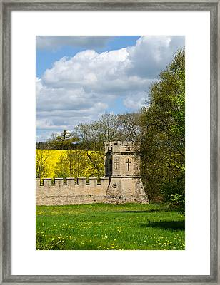 Burghley House Fortifications Framed Print