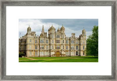 Burghley House Framed Print