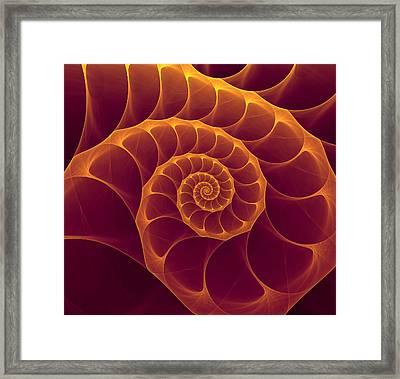 Infinity Framed Print by Anna Bliokh