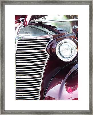 Burgundy Beaut Framed Print by Vijay Sharon Govender