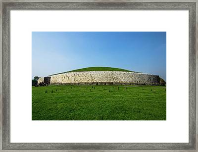 Burial Mound Framed Print