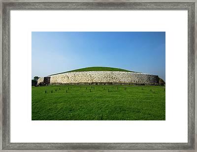 Burial Mound Framed Print