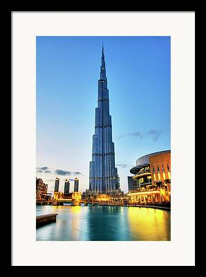 Dubai Framed Prints