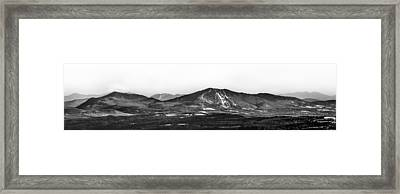 Burke And Cannon Wide Panoramic Framed Print