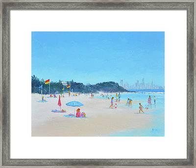 Burleigh Heads Gold Coast Australia Framed Print