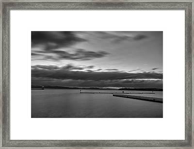 Burlington Docks Framed Print