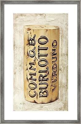 Burlotto Framed Print by Danka Weitzen