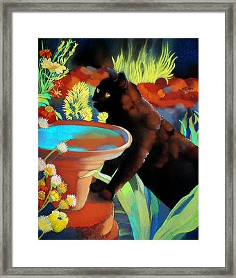 Burmese Afternoon Framed Print