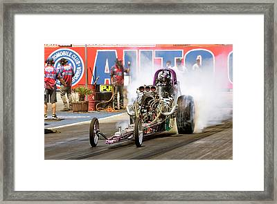 Burn Out  Framed Print by John Swartz