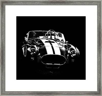 Ford Cobra Framed Print by Esther Kather