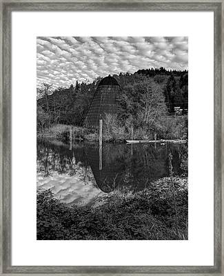 Burner - Old Mill Site Framed Print by HW Kateley