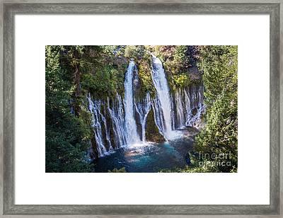Burney Falls 1 Framed Print