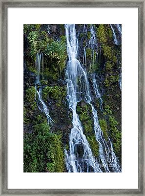 Burney Falls #8 Framed Print