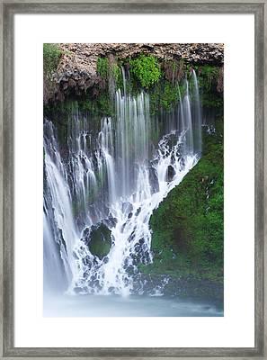 Burney Falls Framed Print by Eric Foltz
