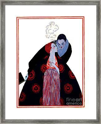 Burning Desire 1919 Framed Print