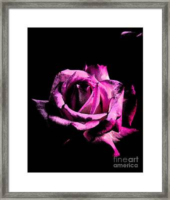 Burning For Love Framed Print