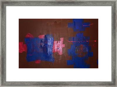 Burning The Midniht Oil Framed Print by John Wesley