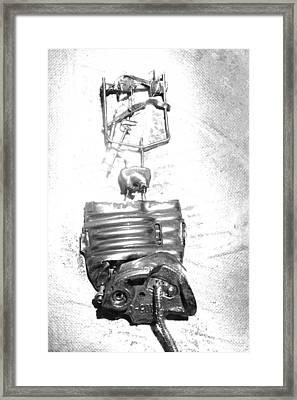 Burnout Framed Print by Stephen Dorsett