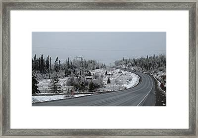 Burns Lake Bc Framed Print