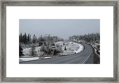 Burns Lake Bc Framed Print