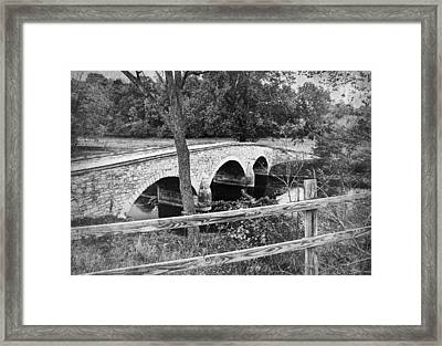 Burnside Bridge 2 Framed Print