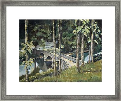 Burnside Bridge At Antietam Framed Print by Deborah Horton