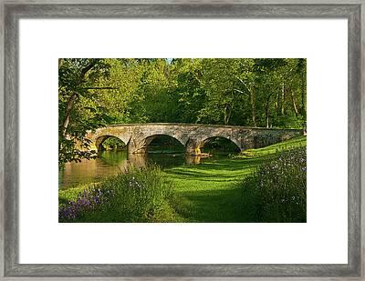 Burnside Bridge Framed Print