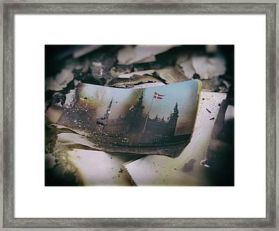 Burnt Framed Print