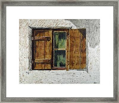 Burnt Siesta Framed Print