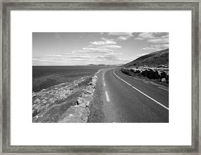 Burren Road Framed Print by John Quinn