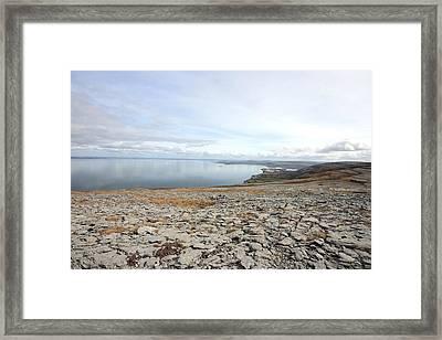 Burren View 2 Framed Print by John Quinn