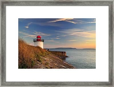 Burry Port 1 Framed Print
