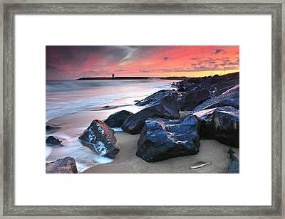 Burry Port 3 Framed Print