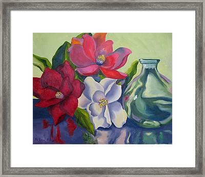 Burst Of Color Framed Print by Lisa Boyd