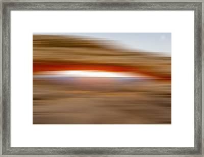 Burst Of Sunshine X Framed Print by Jon Glaser