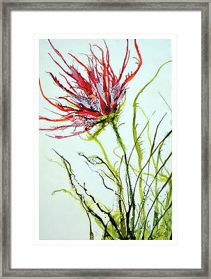 Bursting #2 Framed Print