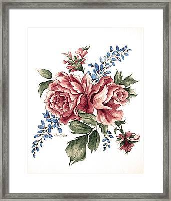 Bursting Blooms Framed Print by Patty Muchka