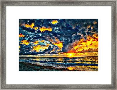 Bursting Forth Framed Print by Dennis Baswell