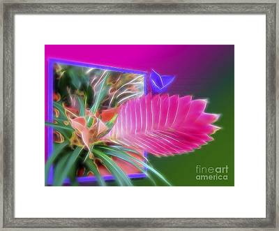 Bursting Forth In Bloom Framed Print by Sue Melvin